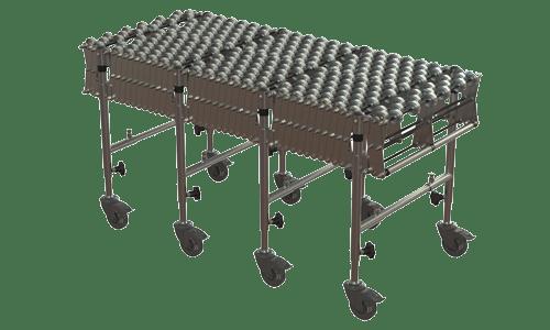 BZP Skate Wheel Flexible Conveyor – Ocon Conveyors