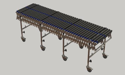 PVC Roller Flexible Conveyor – Ocon Conveyors